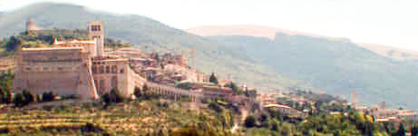 View of Assisi